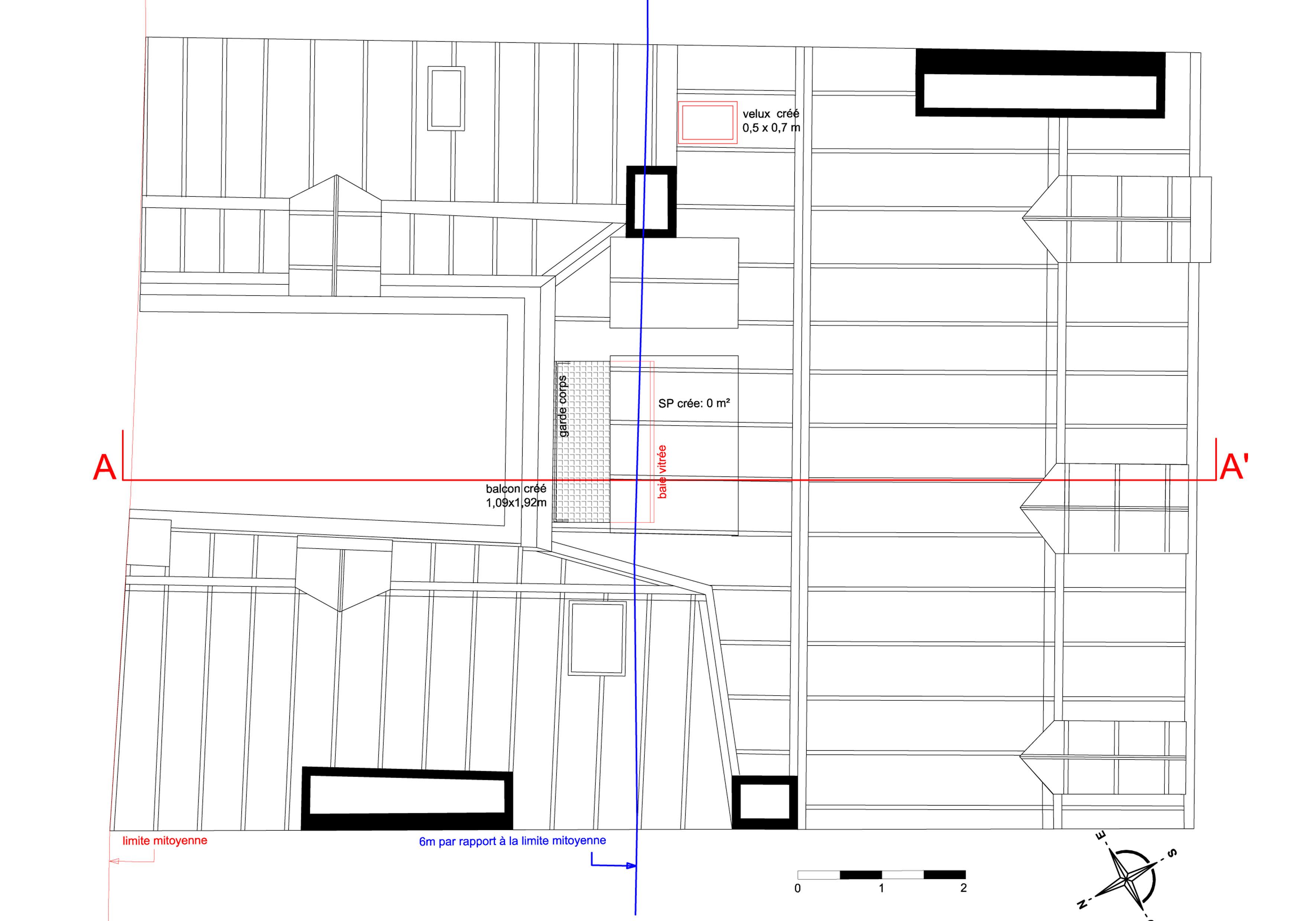 modification d une toiture le st louis piezaterre. Black Bedroom Furniture Sets. Home Design Ideas